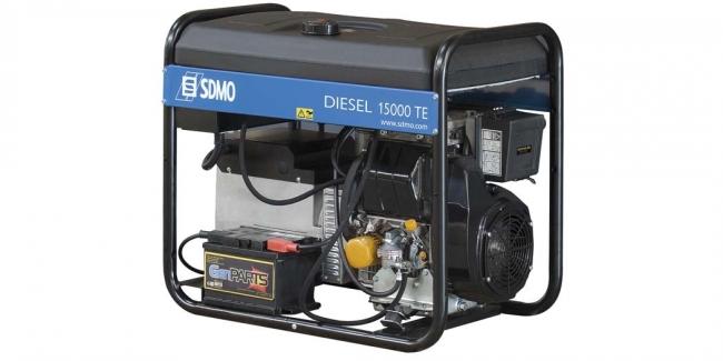Электростанция SDMO Diesel 15000 TE