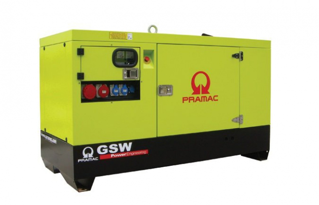 Электростанция Pramac GSW22Y (в кожухе)