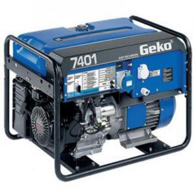 Электростанция Geko 7401 ED-AA/HEBA + блок аварийной автоматики