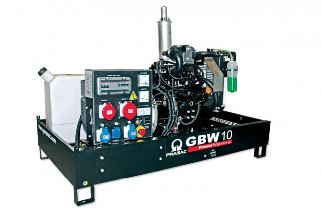 Электростанция Pramac GBW30P (открытого типа)