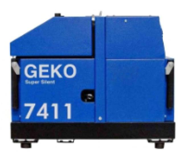 Электростанция Geko 7411 ED-AA/HEBA ss + блоком аварийной автоматики